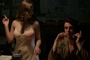 Jenna-Louise Coleman hot and busty and Joanna Vanderham hot sex – Dancing on the Edge (2013) ep1 hd720p