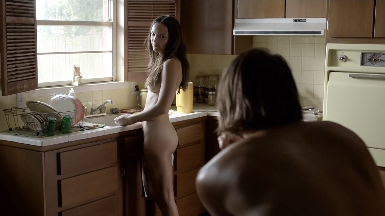 Jodi Balfour nude topless, butt and sex - Quarry (2016) s1e1 HD 720p (13)