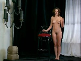 Kari Wuhrer nude full frontal, bush, butt, boobs and sex - Vivid (1999)