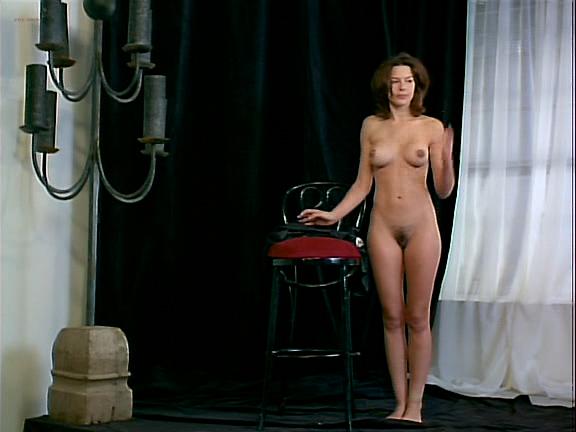 Kari Wuhrer nude full frontal, bush, butt, boobs and sex - Vivid (1999) (9)
