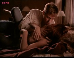 Kari Wuhrer nude topless and sex - Sex and the Other Man (1995) (8)