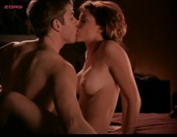 Kari Wuhrer nude topless and sex - Sex and the Other Man (1995) (1)