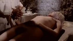 Jacqueline Dupré nude bush, Marina Hedman nude full frontal fellatio other's nude too - La Bimba di Satana (1982) (5)