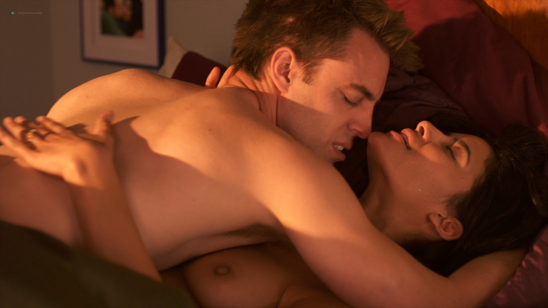 Jessica Clark nude lesbian sex with Barbara Niven nude boobs and butt - A Perfect Ending (2012) HD 1080p (13)