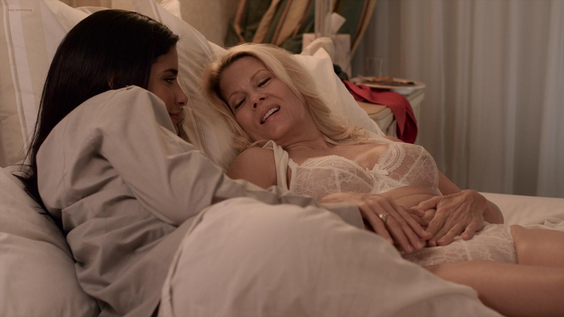 Clark desnuda Jessica Sexo Lesbianas Con desnuda Barbara Niven-5832