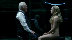 Thandie Newton nude topless Evan Rachel Wood nude nipple and butt other's nude - Westworld (2016) s1e5 HD 1080p (4)