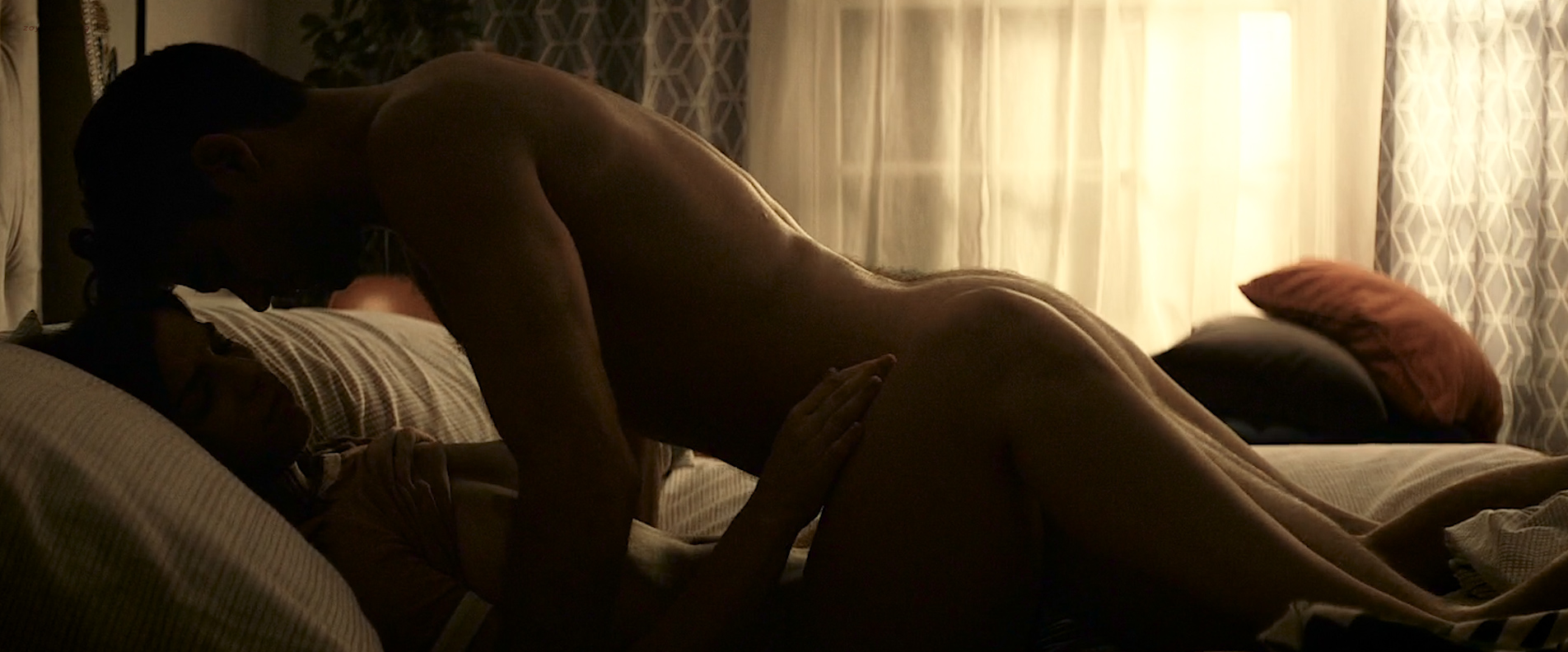 Angela Trimbur nude topless and brief butt naked – Trash Fire (2016) HD 1080p (5)