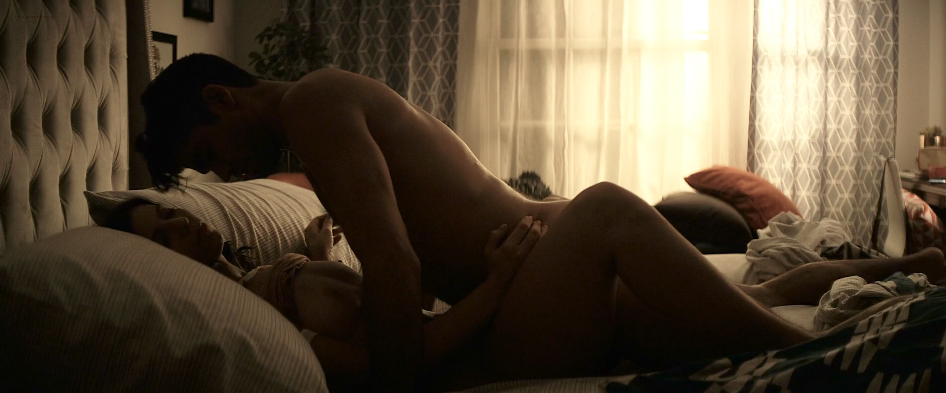 Angela Trimbur nude topless and brief butt naked – Trash Fire (2016) HD 1080p (4)