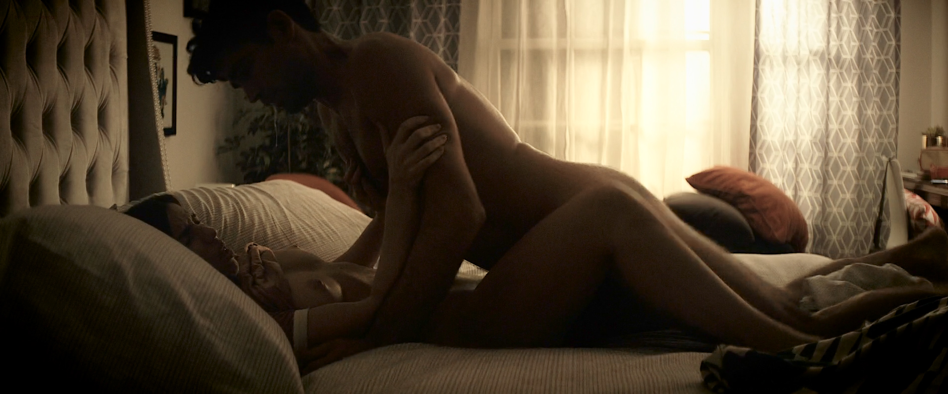 Angela Trimbur nude topless and brief butt naked – Trash Fire (2016) HD 1080p (3)