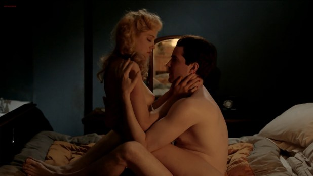 Charity Wakefield nude topless and sex - Close to the Enemy (UK-2016) HD 720p (3)