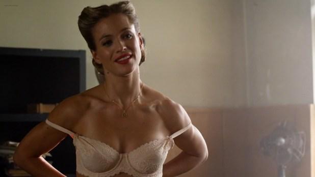 Julie Engelbrecht nude topless - Beyond Valkyrie - Dawn Of The Fourth Reich (2016) HD 1080p (3)