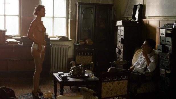 Julie Engelbrecht nude topless - Beyond Valkyrie - Dawn Of The Fourth Reich (2016) HD 1080p (2)