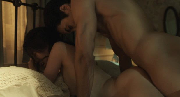 Lim Ji-yeon nude topless, butt and lot of sex - Obsessed (KR-2014) BluRay HD 1080p (13)