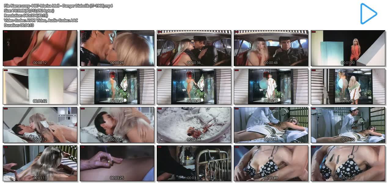 Marisa Mell hot and sexy - Danger Diabolik (IT-1968) (6)