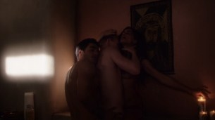 Rayna Tharani nude busty and hot sex threesome, oral – The Young Pope (2016) s01e06 HD 720p (12)