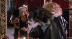 Sybil Danning nude topless and Marsha A. Hunt nude - Howling II (1985) HD 1080p (5)