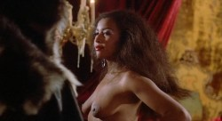 Sybil Danning nude topless and Marsha A. Hunt nude - Howling II (1985) HD 1080p (3)