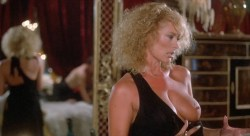 Sybil Danning nude topless and Marsha A. Hunt nude - Howling II (1985) HD 1080p (11)