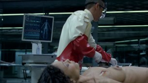Thandie Newton nude bush and boobs Angela Sarafyan nude and Tessa Thompson butt naked - Westworld (2016) s01e07 HD 1080p (5)