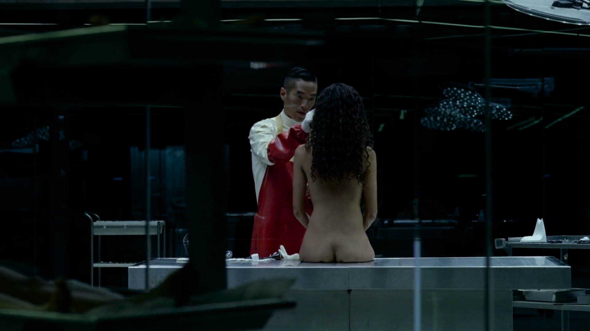 Thandie Newton nude topless and butt - Westworld (2016) s1e6 HD 1080p (4)