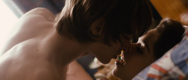 Emilia Clarke hot and sexy in brief sex scene - Spike Island (2012) HD 1080p BluRay (3)