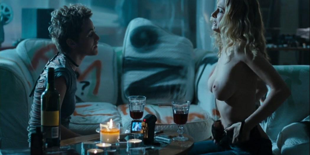 Heather Graham nude lesbian sex Jaime Winstone, Meredith Ostrom nude – Boogie Woogie (2009) HD 1080p (12)