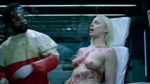 Ingrid Bolsø Berdal nude full frontal - Westworld (2016) s1e10 HD 1080p (3)