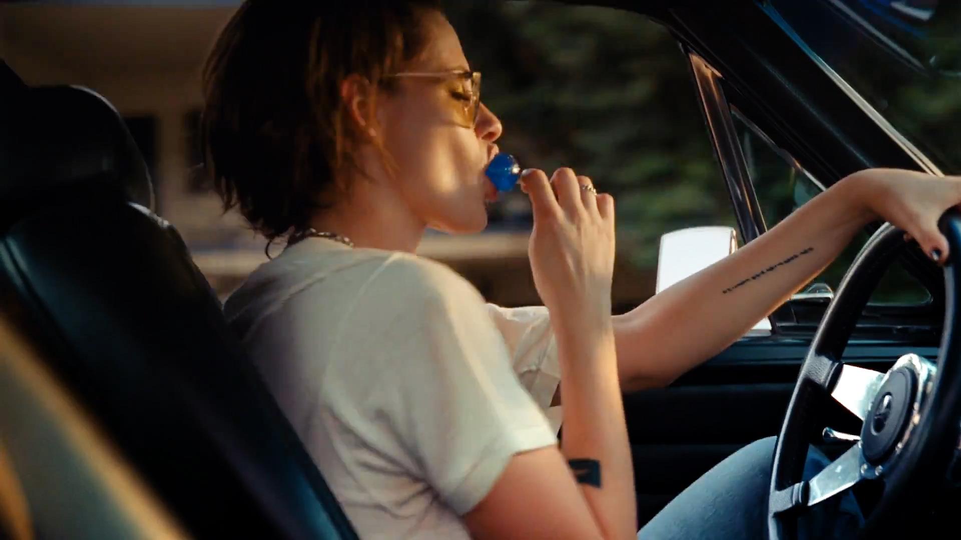 Kristen Stewart hot sexy nipple slip - The Rolling Stones - Ride 'Em On Down (9)
