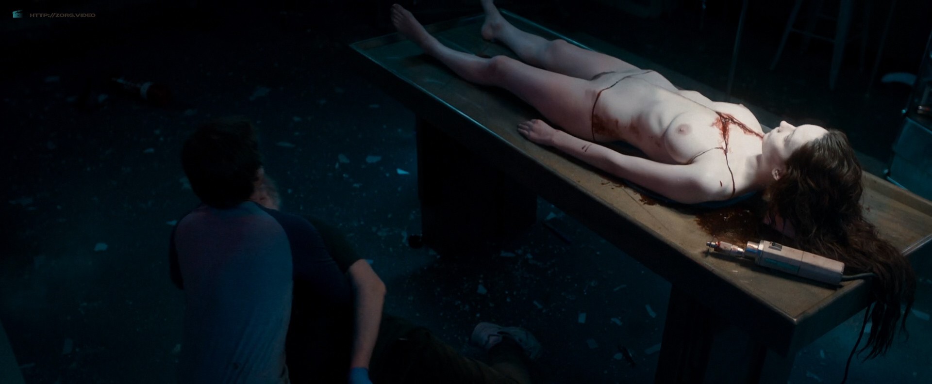 Olwen Catherine Kelly nude bush and boobs - The Autopsy of Jane Doe (2016) HD 1080p WebDl (4)