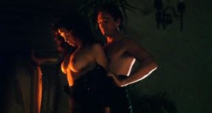 Sherilyn Fenn nude topless and sex Charlie Spradling nude busty - Meridian (1990) hd 1080P BluRay (2)