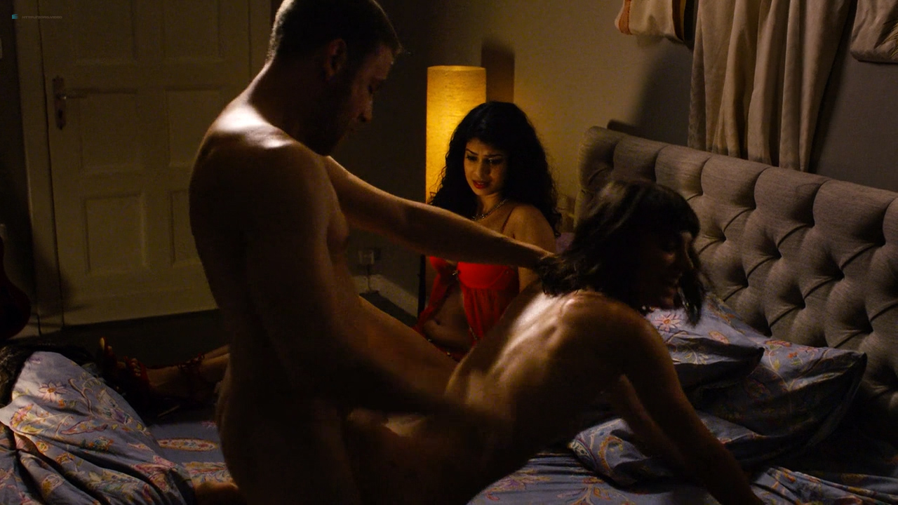Tuppence Middleton nude sex Freema Agyeman, Doona Bae all nude group sex too - Sense8 (2016) Christmas Special HD 720p (2)