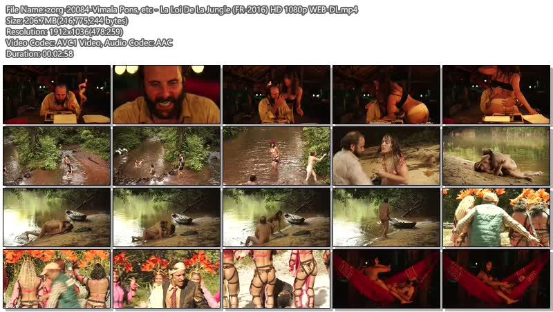 Vimala Pons nude bush and sex etc - La Loi De La Jungle (FR-2016) HD 1080p WEB-DL (9)
