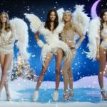 Merry Christmas to everybody from Adriana Lima very naughty Santa Baby Victoria's Secret Holiday 2016