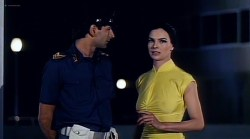 Carole Bouquet hot nip slip and Janet Agren sexy - Mystere (IT-1983) (1)