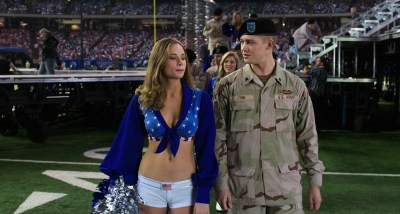 Makenzie Leigh hot and sexy cleavage - Billy Lynn's Long Halftime Walk (2016) HD 1080p WebDl (6)