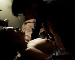 Natasha Henstridge nude topless and sex - Caracara (1999)
