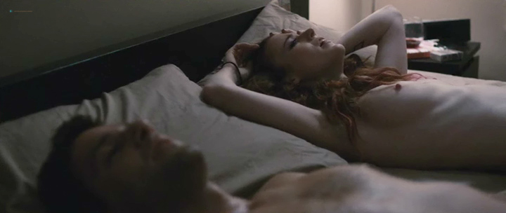 Rose Leslie nude topless and sex - Sticky Notes (2016) (3)