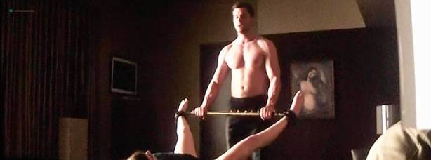 Dakota Johnson nude and bondage and sex - Fifty Shades Darker (2017) TS (3)