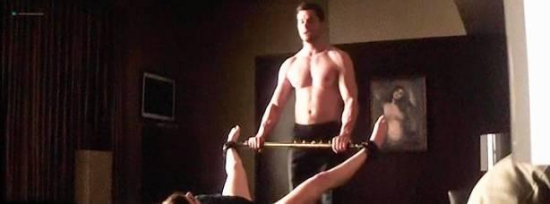 Dakota Johnson nude and bondage and sex - Fifty Shades Darker (2017) TS (3)