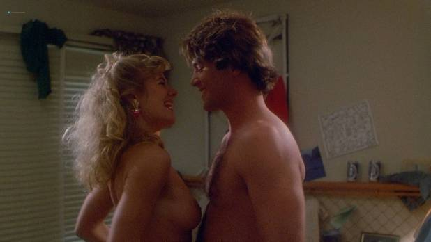 Hope Marie Carlton nude topless and sex - Slaughterhouse Rock (1988) HD 1080p BluRay (10)