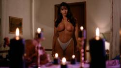 Julie Strain nude full frontal Rochelle Swanson and others nude lesbian sex - Sorceress (1994) HD 1080p BluRay (6)