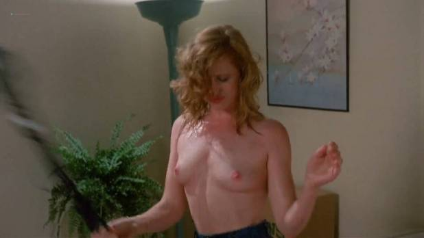 Juliette Cummins nude topless Kimberly McArthur hot and busty - Slumber Party Massacre II (1987) HD 1080p (6)
