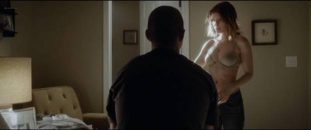 Kate Mara hot and sexy in bra - Man Down (2016) HD 1080p (4)