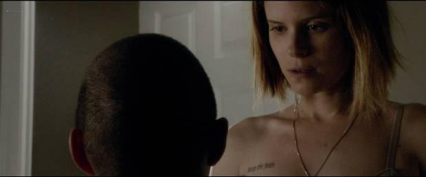 Kate Mara hot and sexy in bra - Man Down (2016) HD 1080p (2)
