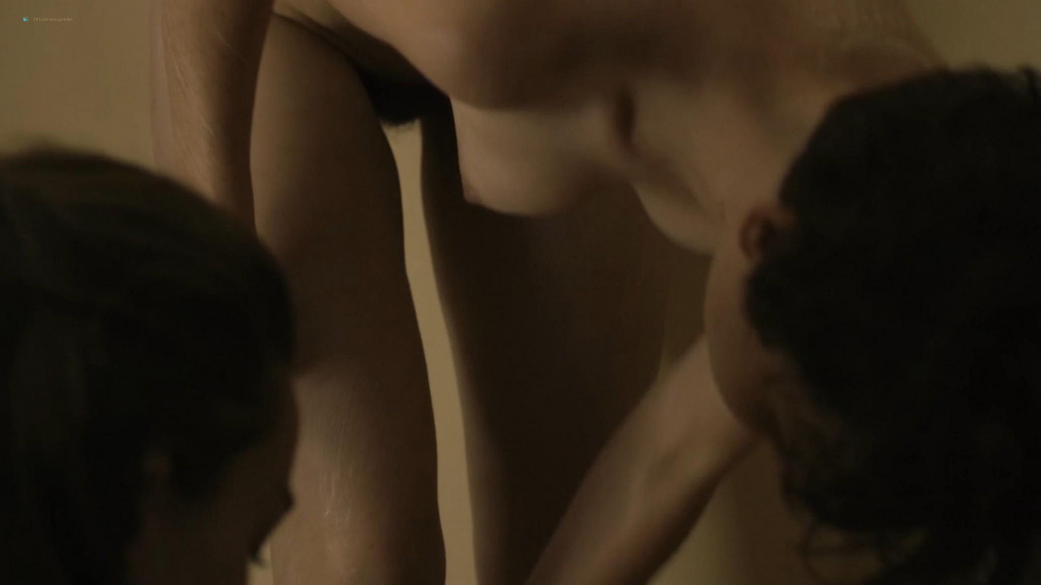 Salomé Richard nude topless in shower Kate Moran nude - Baden Baden (FR-2016) HD 1080p Web (2)