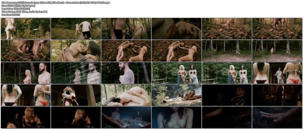 Lucretia Lynn nude full frontal Tristan Risk and Ellie Church nude - Harvest Lake (2016) HD 1080p WebDL (11)