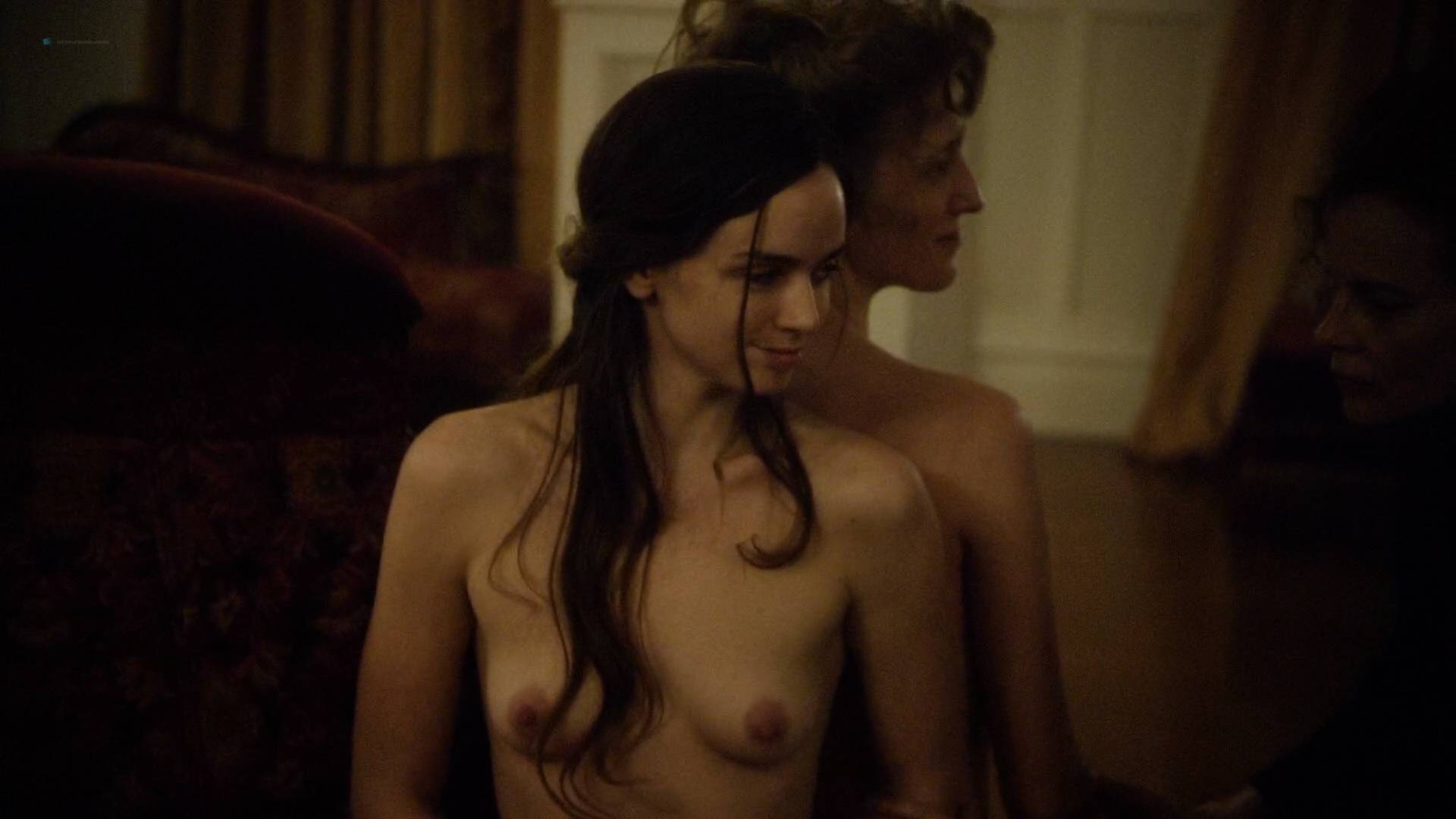 Allie Gallerani nude full frontal Amber Coney, Zoe Bleu, and other's nude too - The Institute (2017) HD 1080p Web (3)