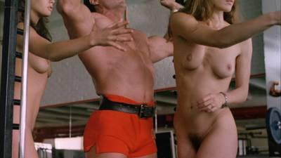 Elizabeth Hurley nude topless Bridget Fonda, Valérie Allain and other's nude bush - Aria (1987) HD 1080p BluRay (6)