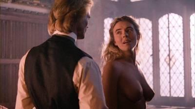 Elizabeth Hurley nude topless Bridget Fonda, Valérie Allain and other's nude bush - Aria (1987) HD 1080p BluRay (20)