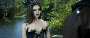 India Eisley hot and sexy - The Curse of Sleeping Beauty (2016) HD 1080p WEB-DL